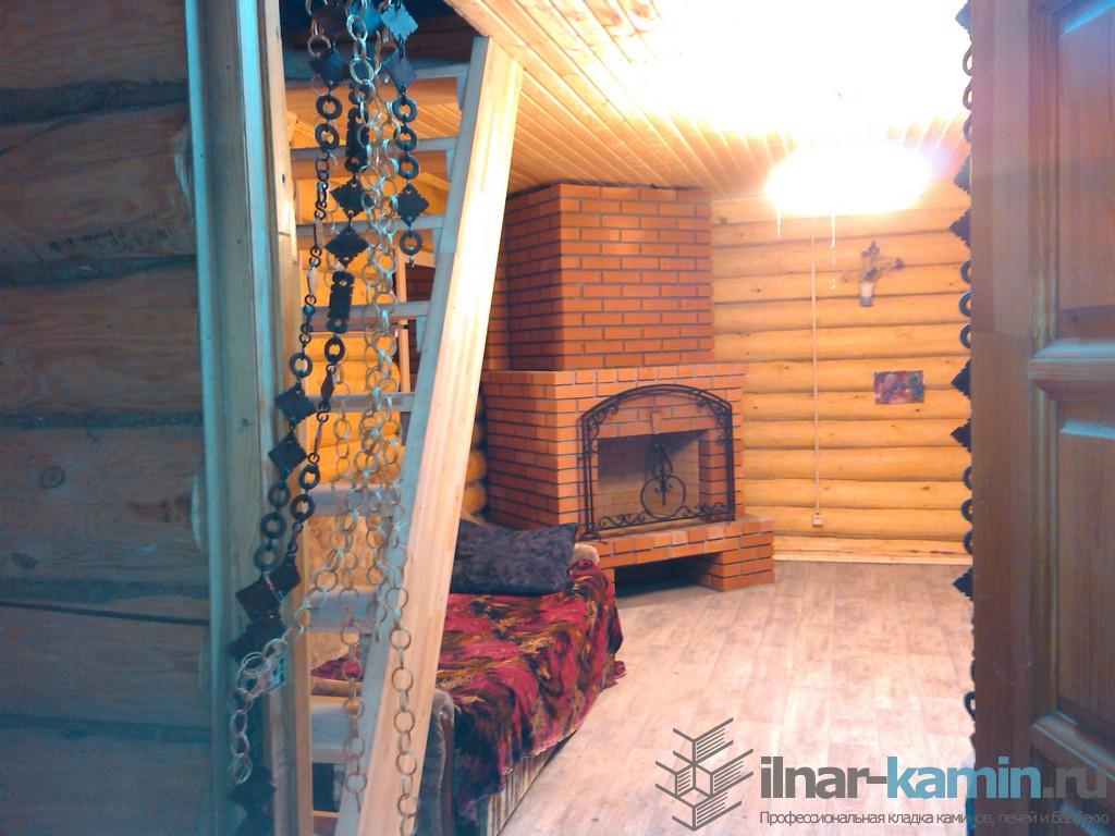 Кладка камина — ул. Беломорская, Казань — 10.12.2014
